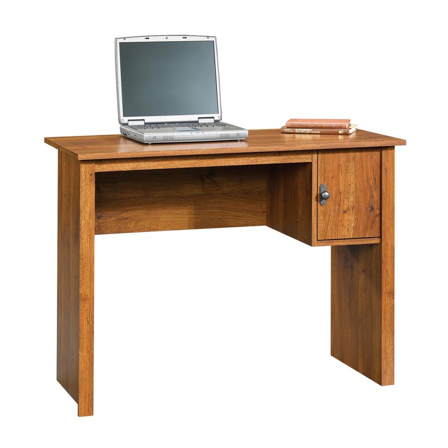 Shop Sauder Abbey Oak Student Desk At Lowes.com
