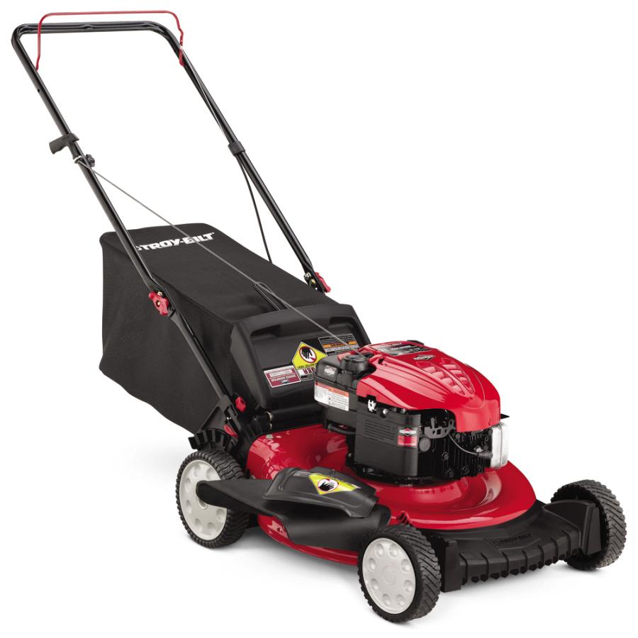 Shop Troy Bilt 190 Cc 21 In 3 In 1 Gas Push Lawn Mower