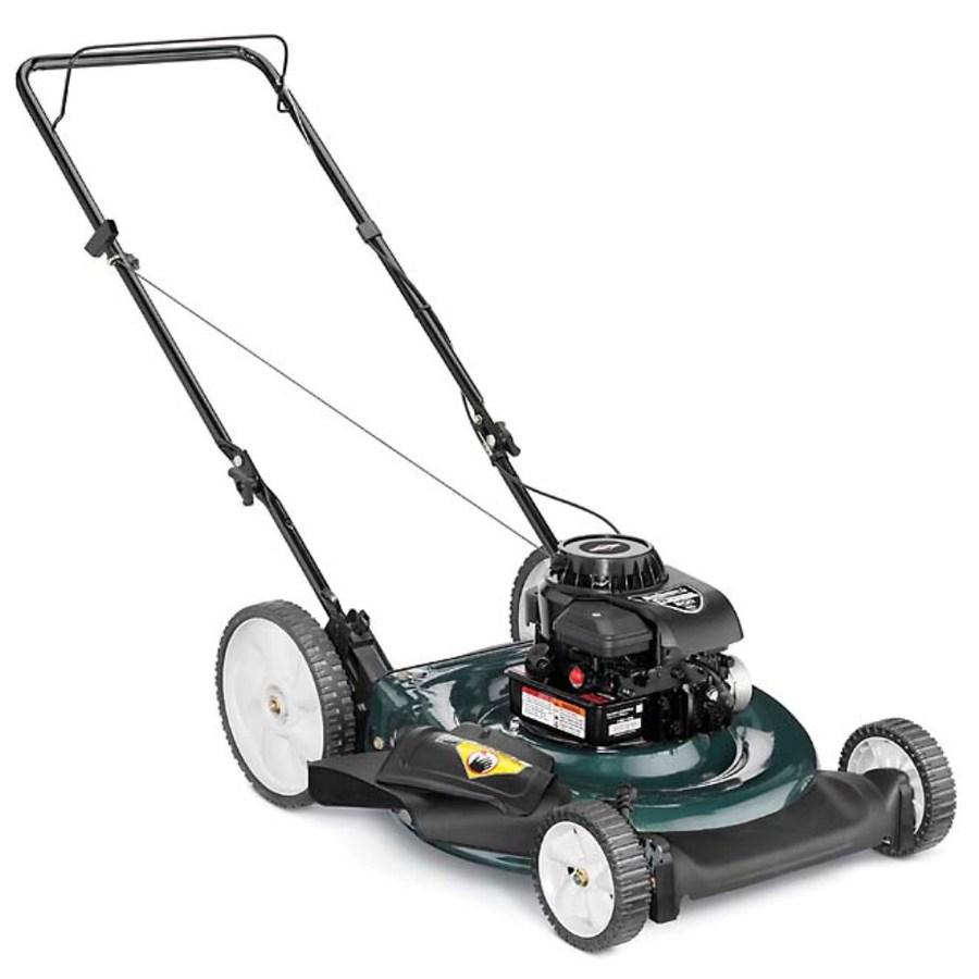 Shop Bolens 158 Cc 21 In 2 In 1 Gas Push Lawn Mower With