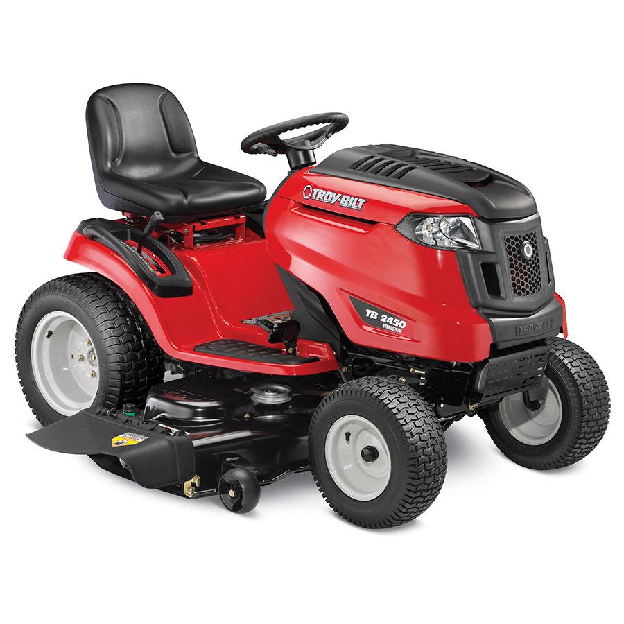 Shop Troy Bilt V Twin Hydrostatic 50 In Riding Lawn Mower