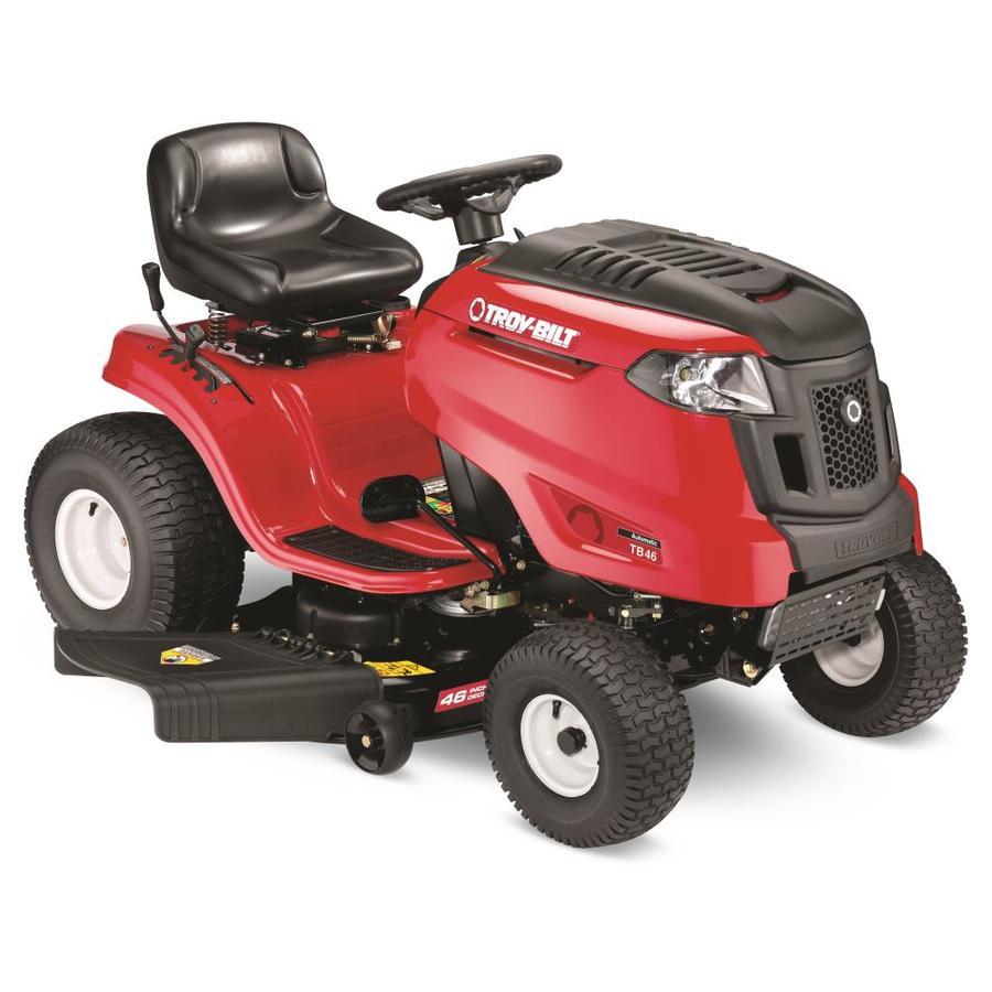 Shop Troy Bilt Tb46 19 Hp Foot Automatic 46 In Riding Lawn