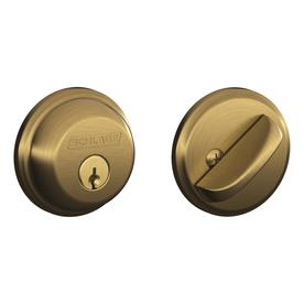 Display Product Reviews For B60 Traditional Antique Brass 1 Deadbolt