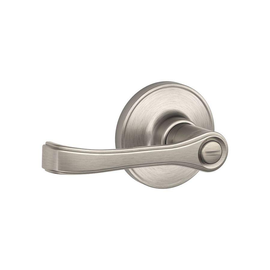 Schlage J Torino Satin Nickel Reversible Privacy Door Handle J40 Tor 619