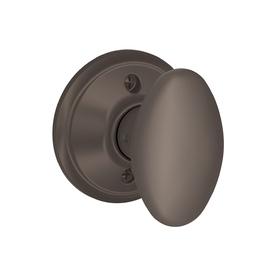 Schlage Lock F170SIE613 Siena Dummy Knob Interior Door Hardware - Oil Rubbed Bronze