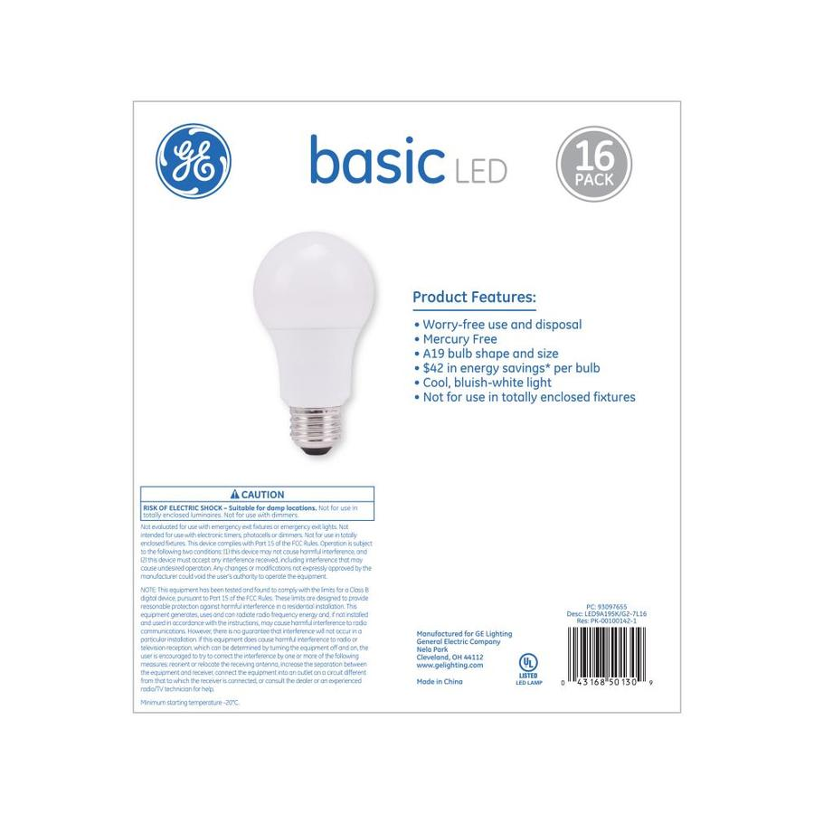 60 Watt Eq A19 Daylight Led Light Bulb
