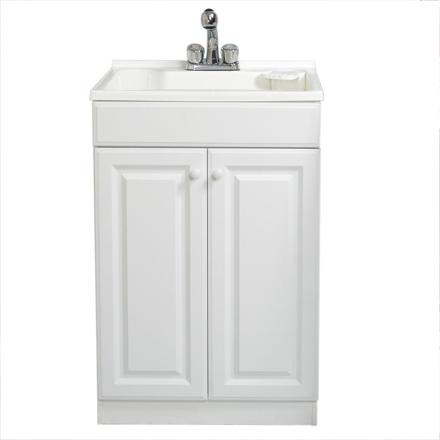 Shop Style Selections White Polypropylene Utility Tub At