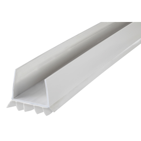display product reviews for 2 14 in x 3 ft white - Garage Door Bottom Seal Lowes