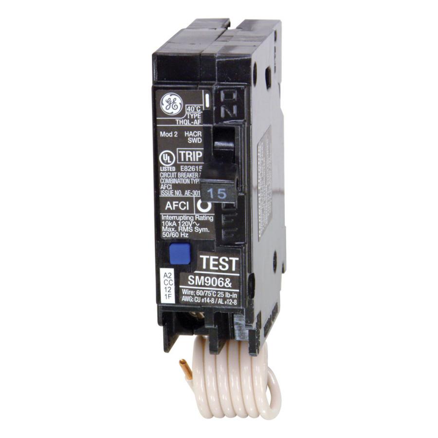 Shop Ge Q Line Thql 15 Amp Combination Arc Fault Circuit