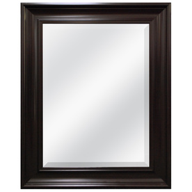 Display Product Reviews For Espresso Beveled Wall Mirror