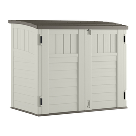 Display Product Reviews For Vanilla Resin Outdoor Storage Shed Common 53 In X