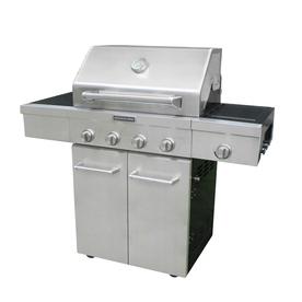 Shop Kitchenaid Stainless Steel 4 Burner 48 000 Btu