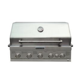 KitchenAid 4-Burner Built-In Liquid Propane And Natural G...