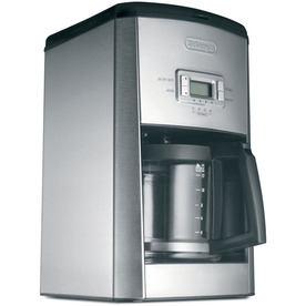 Delonghi 14-Cup Stainless Steel Programmable Coffee Maker...