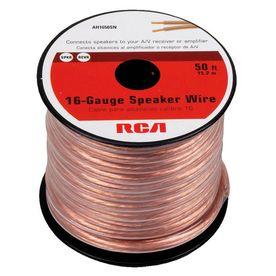 Speaker Cable Lowes : shop rca 50 ft 16 2 standard speaker wire at ~ Russianpoet.info Haus und Dekorationen