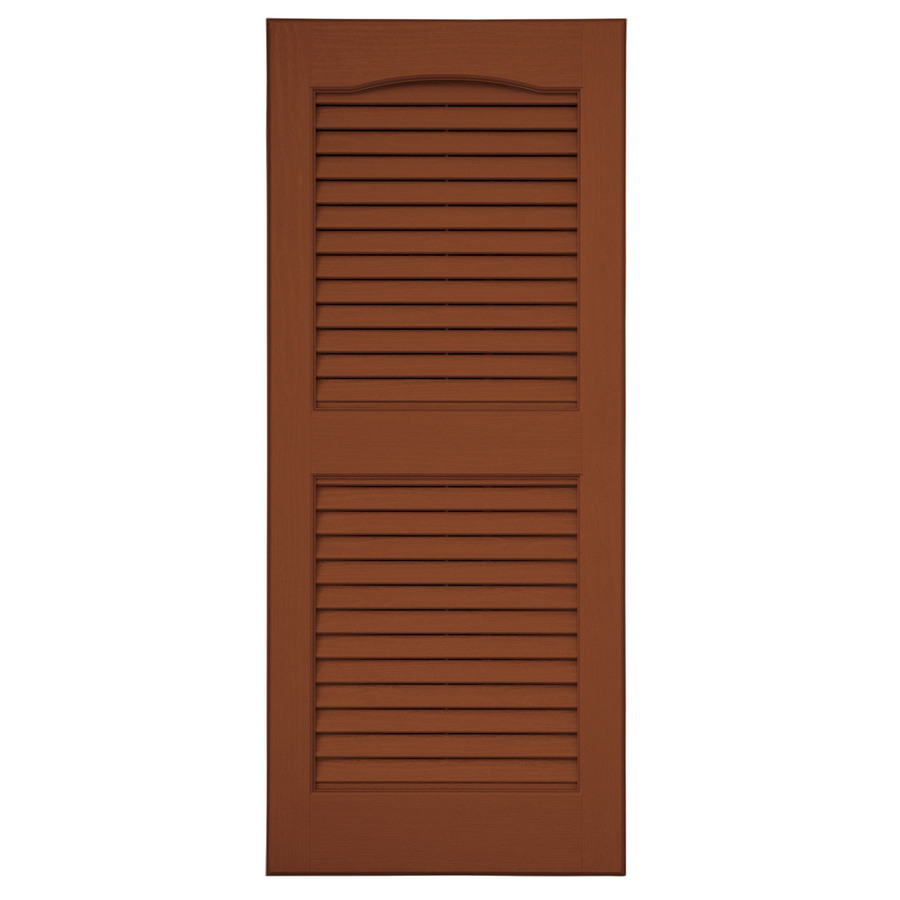 Vinyl Louvered Doors 118