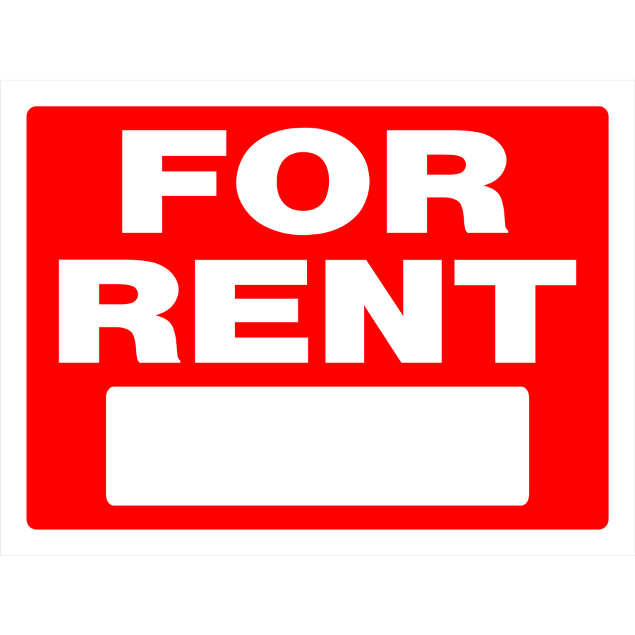 Apartment For Rent Signs: Shop The Hillman Group 18-in X 24-in For Rent Sign At