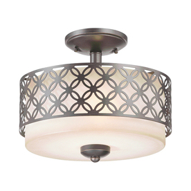 Style Stained Glass Flush Mount Ceiling Pendant Light Fixture Ebay Light Kit Included