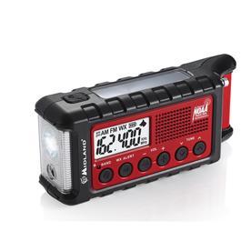 Am/Fm Weather Radio With Clock - Midland ER310