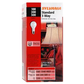 12 sylvania mogul base 3 way 100 200 300 watt incandescent light bulb lamp ps25 ebay. Black Bedroom Furniture Sets. Home Design Ideas