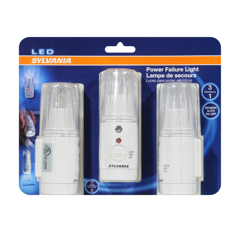 Shop Sylvania White Led Night Light With Auto On Off At