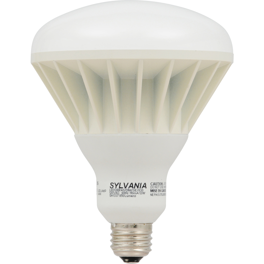 Shop SYLVANIA 12-Watt (65W Equivalent) BR40 Medium Base