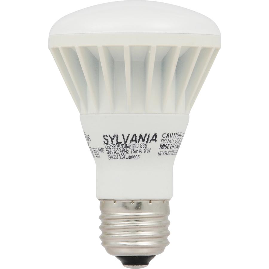 Shop SYLVANIA 8-Watt (50 W Equivalent) R20 Medium Base (E