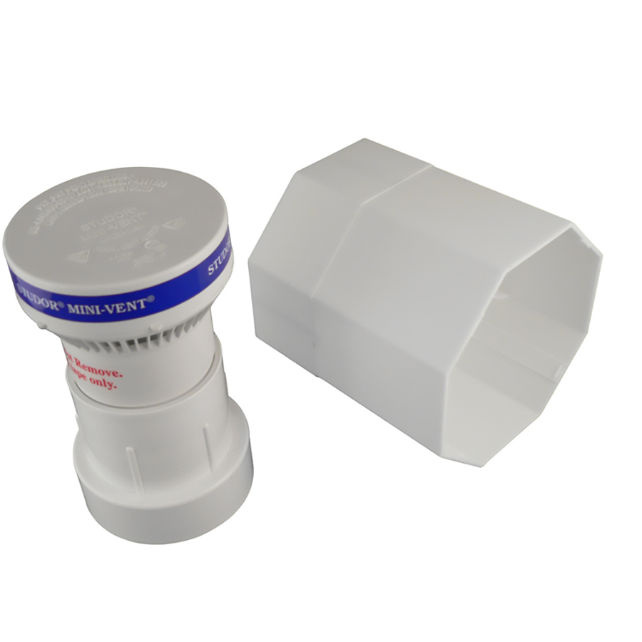 Kitchen Air Vent: Shop Keeney Mfg. Co. Plastic Mini Air Admittance Vent At