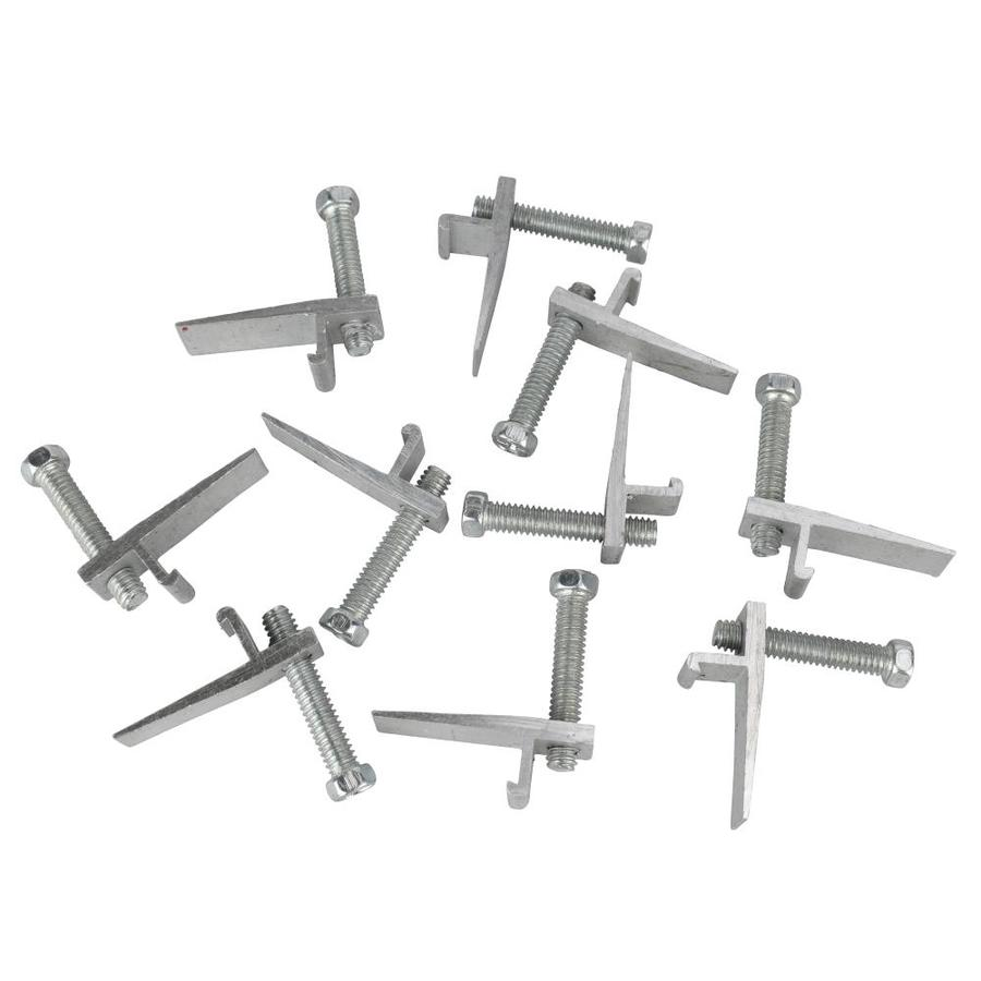 Shop Plumb Pak 10 Pack Stainless Steel Clips For Top Mount