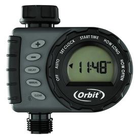 Shop Orbit 1 Outlet Digital Water Timer At Lowes Com