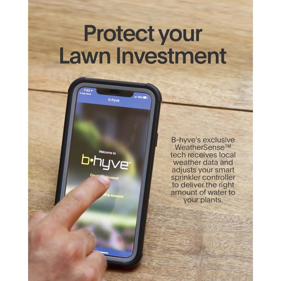 Gardening Orbit 57985 B-hyve XR 8-Zone Smart Sprinkler Controller ...