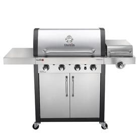 Char-Broil Commercial Tru-Infrared Stainless/Black 4-Burn...