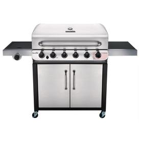 Char-Broil Performance Stainless 6-Burner Liquid Propane Gas Grill With 1 Side Burner 463244819