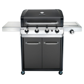 Char-Broil Black And Stainless Steel 4-Burner Liquid Prop...