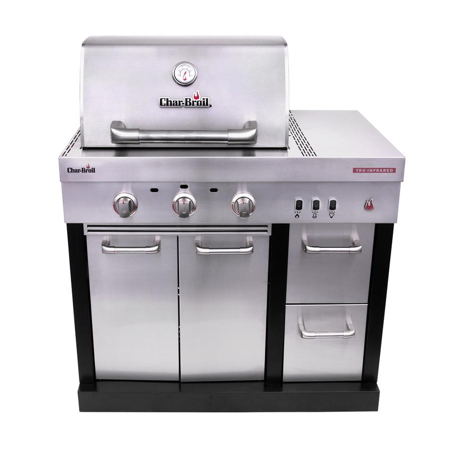 Char-Broil Modular Outdoor Kitchen Medallion Modular Gas Grill Stainless Steel | 463246018