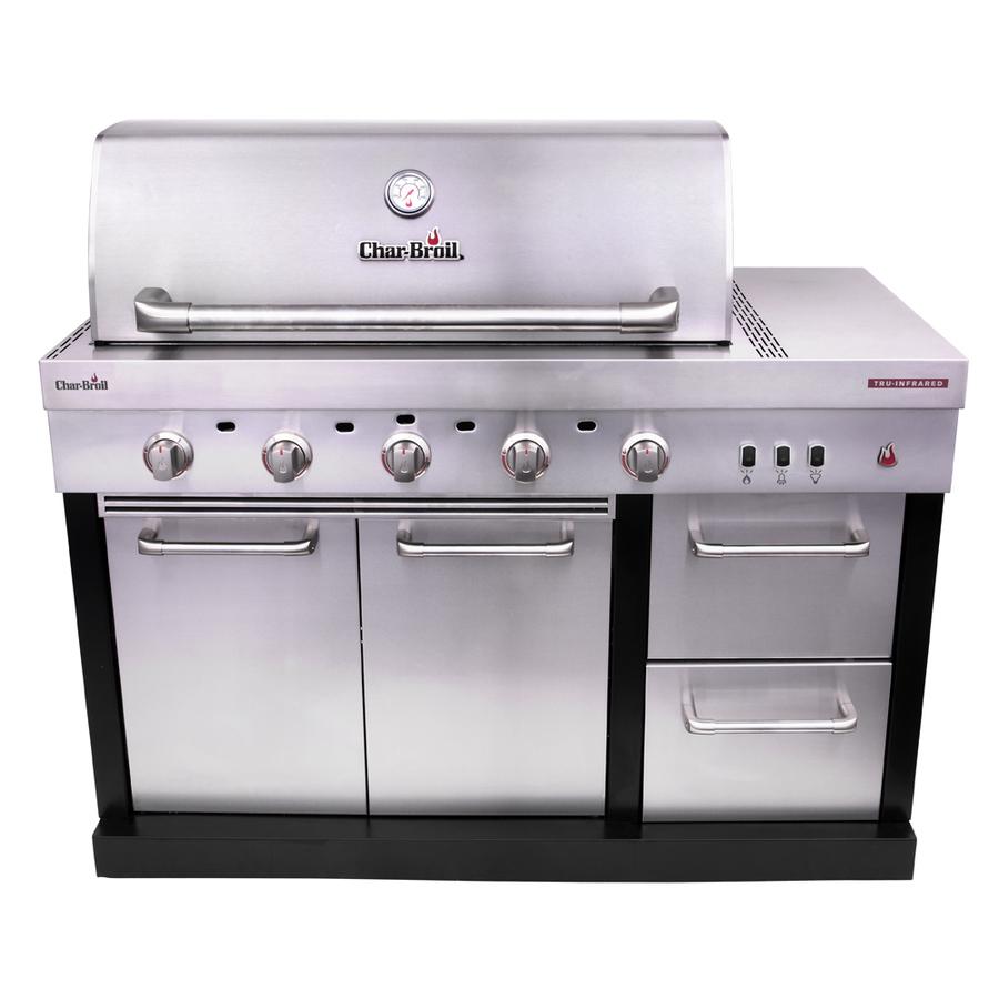 Char-Broil Modular Outdoor Kitchen Medallion Modular Gas Grill Stainless Steel | 463246118