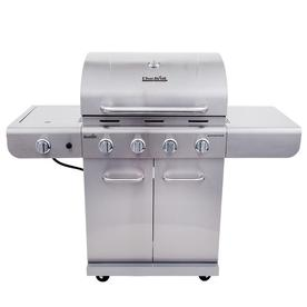 Char-Broil Silver 4-Burner Liquid Propane Gas Grill With ...