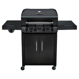 Char-Broil Performance Black 4-Burner Liquid Propane Gas Grill With 1 Side Burner 463349917