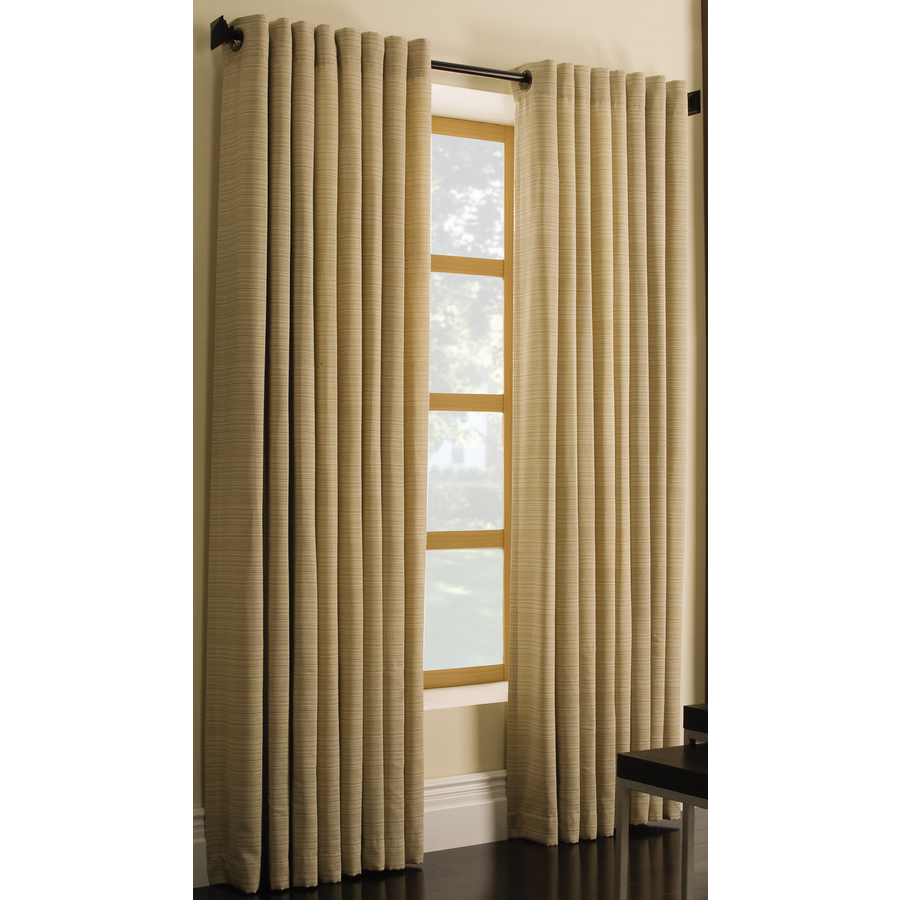 Shop Style Selections Marsden 84-in L Solid Gold Grommet