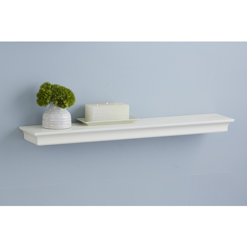 allen + roth 42-in W x 2.64-in H x 7.64-in D Wall Mounted Shelving 9481160