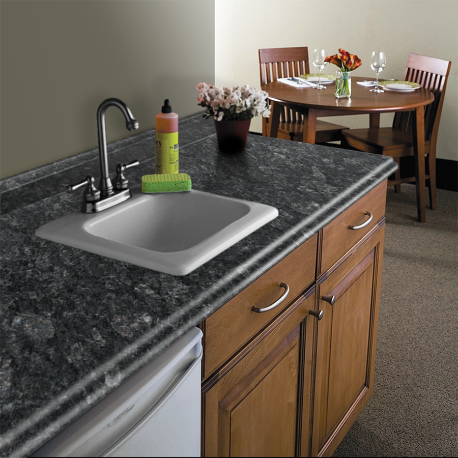 Formica 4 Ft Midnight Stone