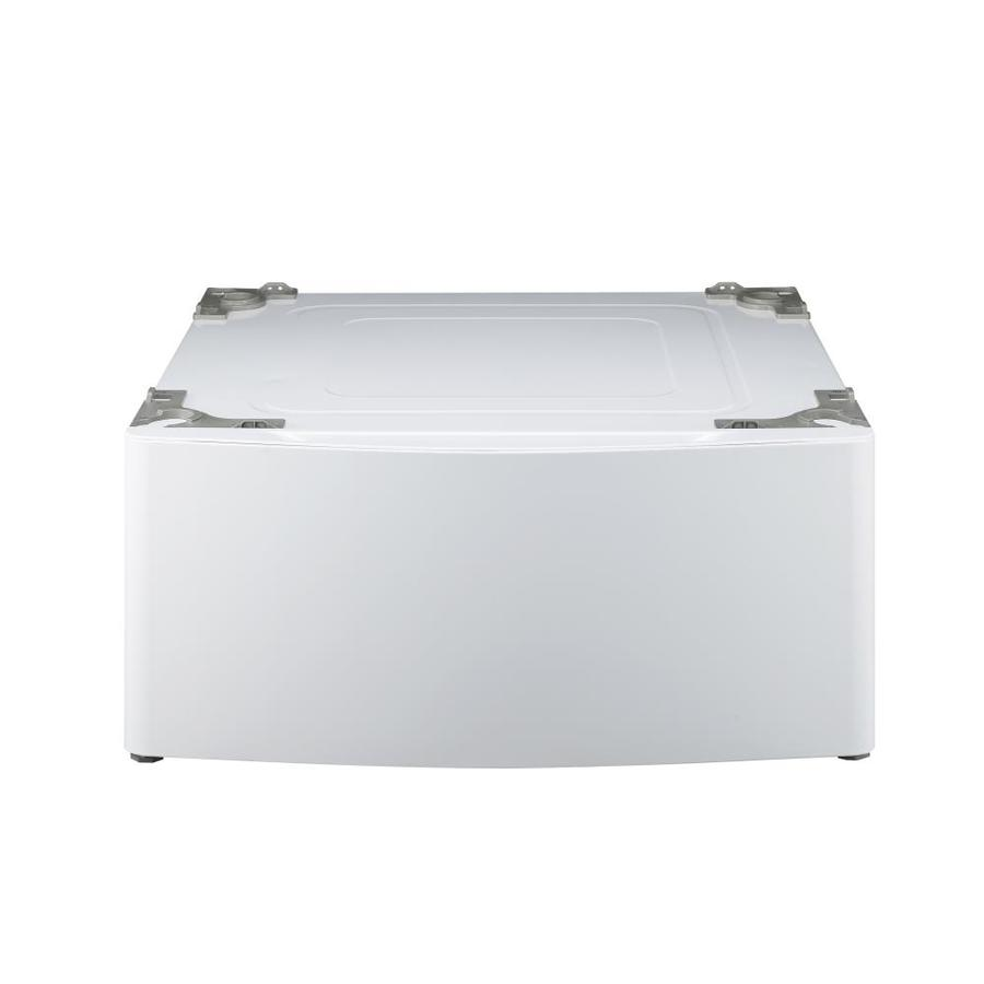 Shop Lg 13 6 In X 29 In White Laundry Pedestal With