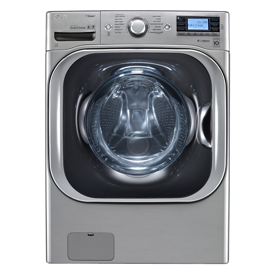 Shop Lg 5 2 Cu Ft High Efficiency Front Load Washer With