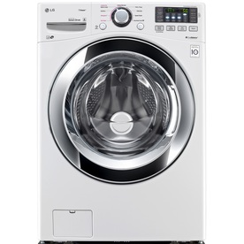 Shop Lg 4 3 Cu Ft High Efficiency Front Load Washer With
