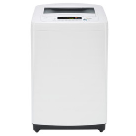 LG 3.3-Cu Ft High-Efficiency Top-Load Washer (White) Wt901cw