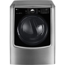LG 9-Cu Ft Electric Dryer (Graphite Steel) Dlex9000v