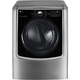 LG 9-Cu Ft Gas Dryer (Graphite Steel) Dlgx9001v