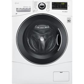 LG 2.3-Cu Ft High-Efficiency Stackable Front-Load Washer ...