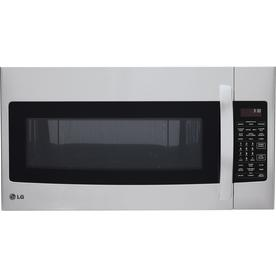 LG 1.7-Cu Ft Over-The-Range Convection Microwave With Sen...