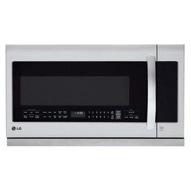 LG 2.2-Cu Ft Over-The-Range Microwave With Sensor Cooking...