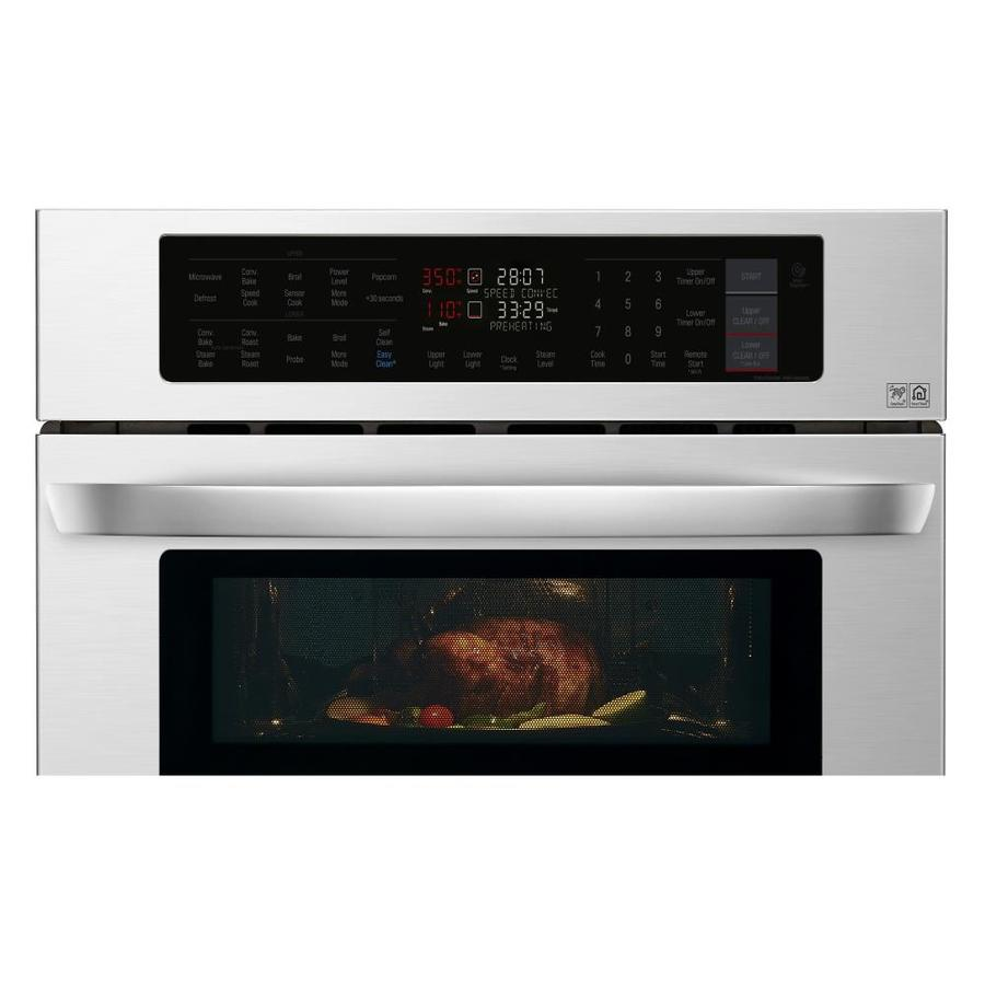 Lg Self Cleaning Convection Microwave